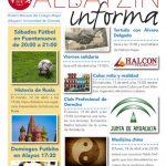 Albayzín Informa de abril 2016. Nº 261