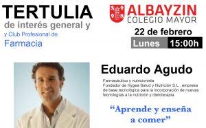 Cartel Tertulia Eduardo Agudo_22feb16