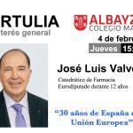Tertulia con José Luis Valverde