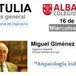 Tertulia con Miguel Giménez Yanguas
