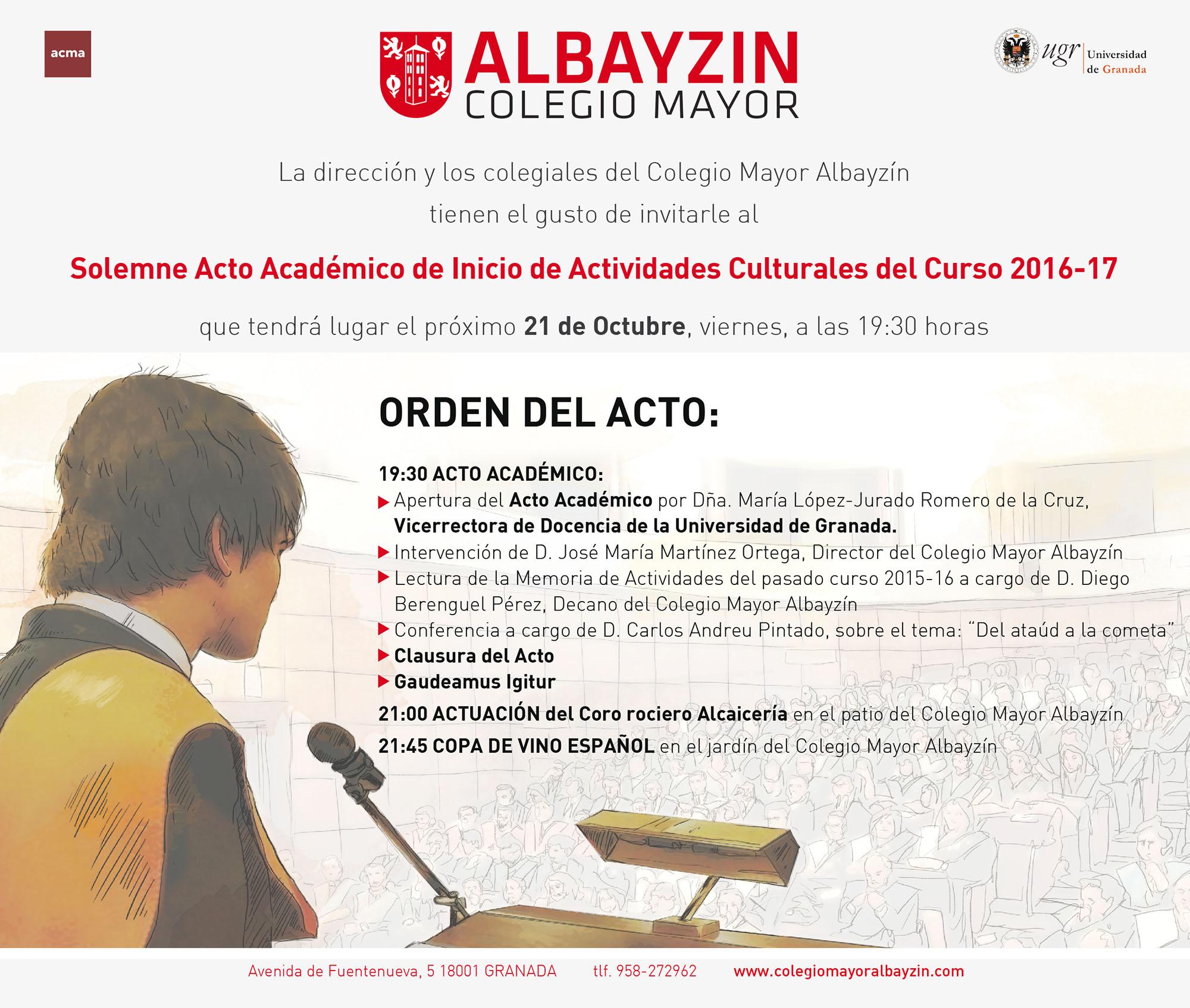 Tarjetón Apertura_Albayzin_2016