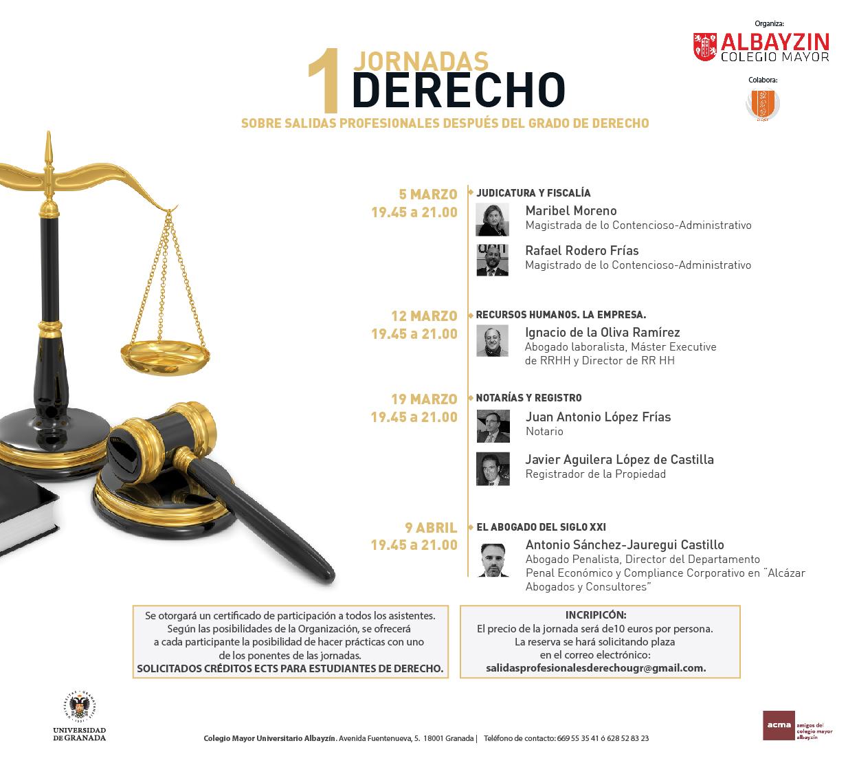 I Jornadas de Derecho